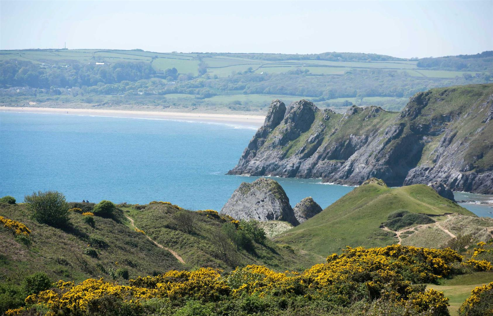 Three Cliffs and Oxwich Bay