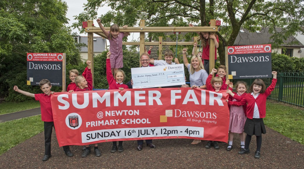 Dawsons Property sponsor Newton Primary Summer Fair
