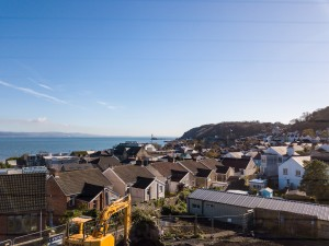 View from new Mumbles development
