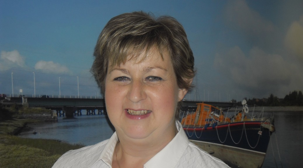 June Williams, Gorseinon office manager