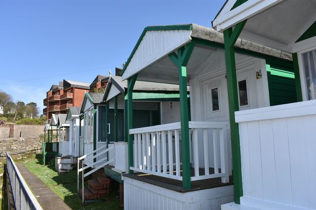 Rotherslade beach hut