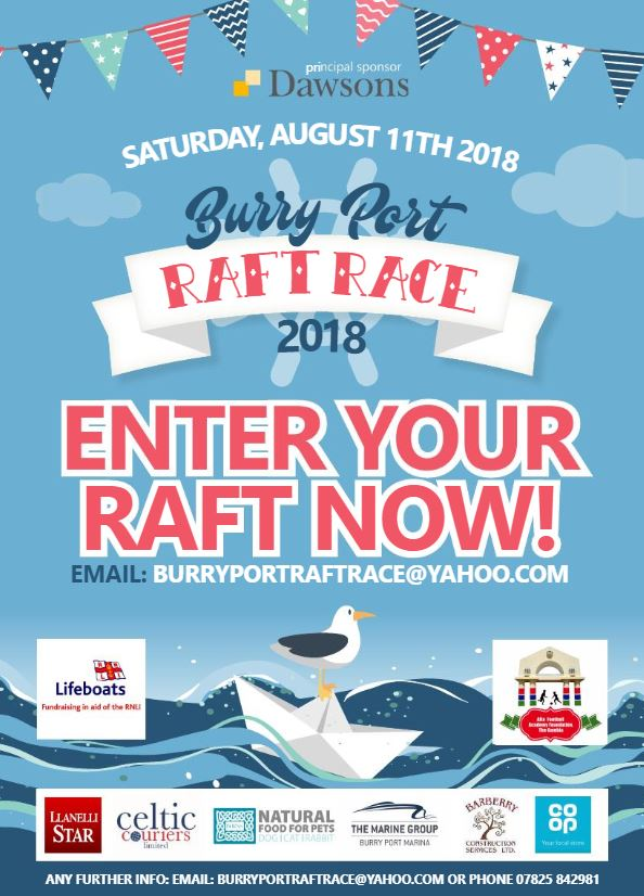Burry Port Raft Race poster