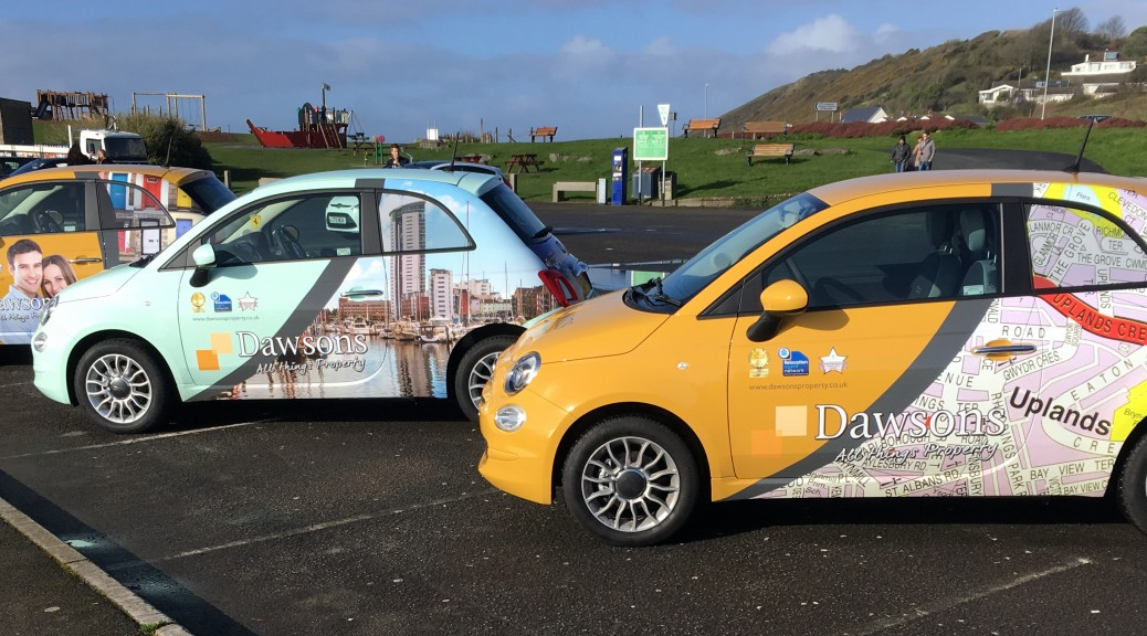 Iconic Images for Dawsons Company Car Fleet
