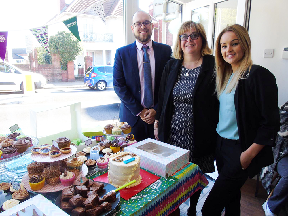 Morriston Macmillan Coffee Morning