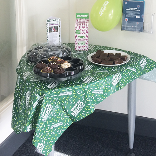 Sketty Macmillan Coffee Morning