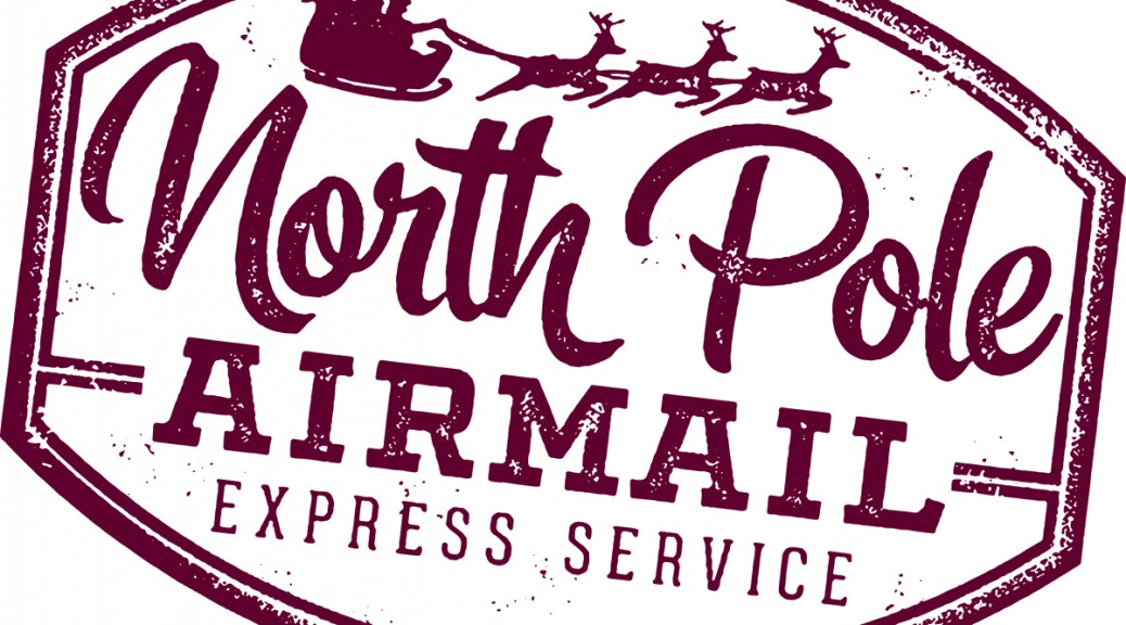 Airmail Express to Santa Claus from Gorseinon