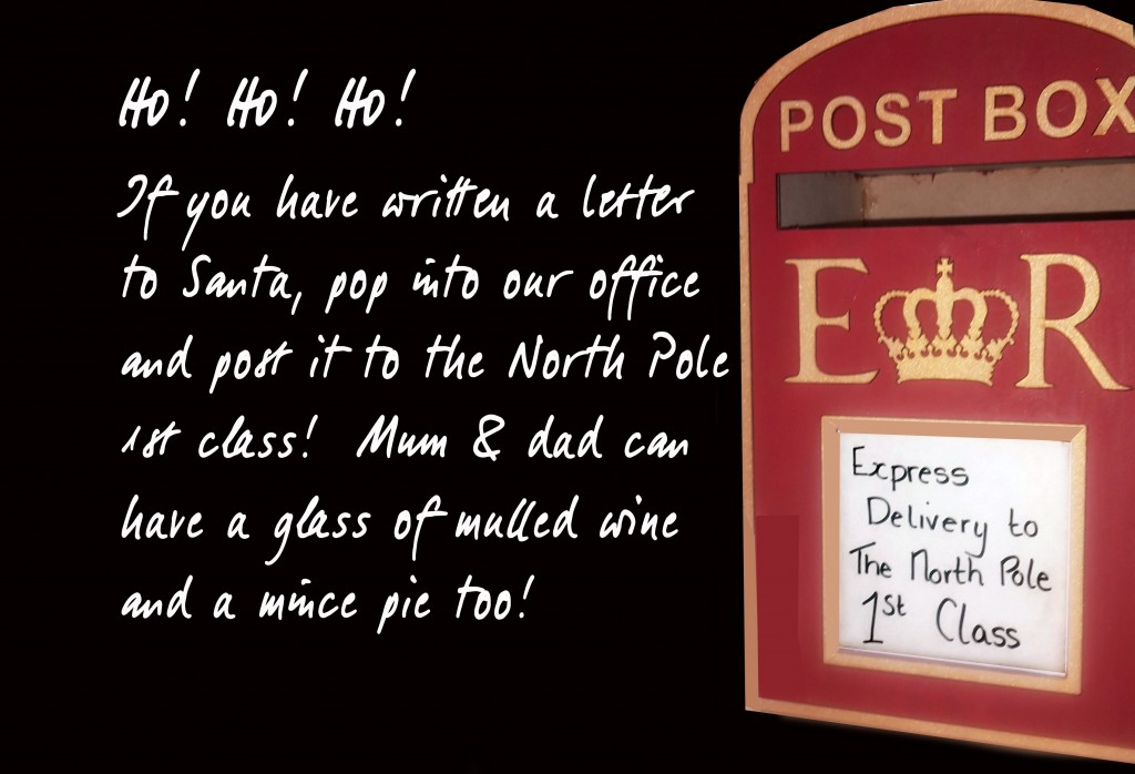 Post a letter to Santa in Gorseinon