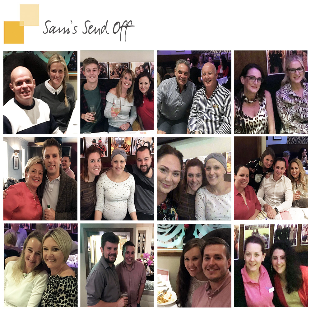 Sams Breast Cancer curry night