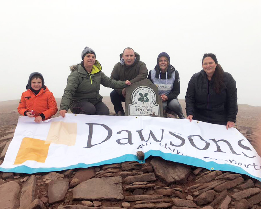 pen y fan climb for Neonatal Ward WALES