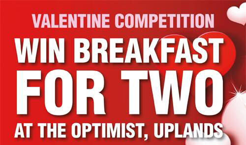 valentine competition at The Optimist 2017
