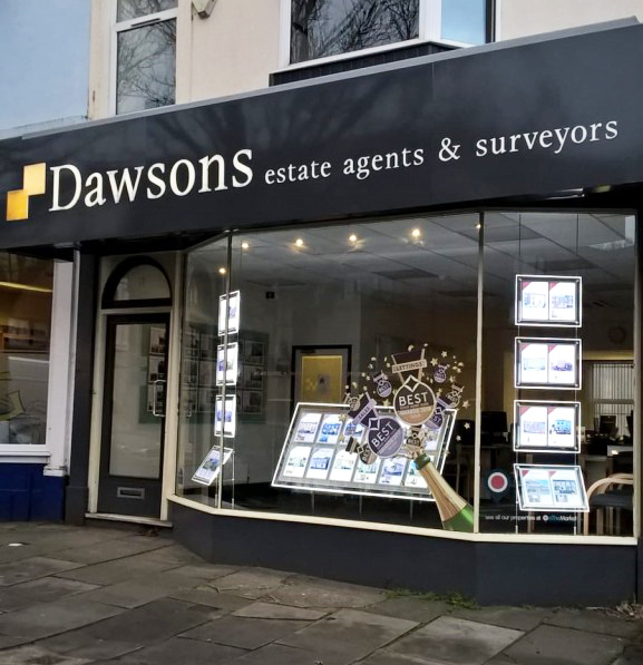 Dawsons celebrate their win at the EA Masters with new window displays