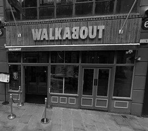 WALKABOUT BW