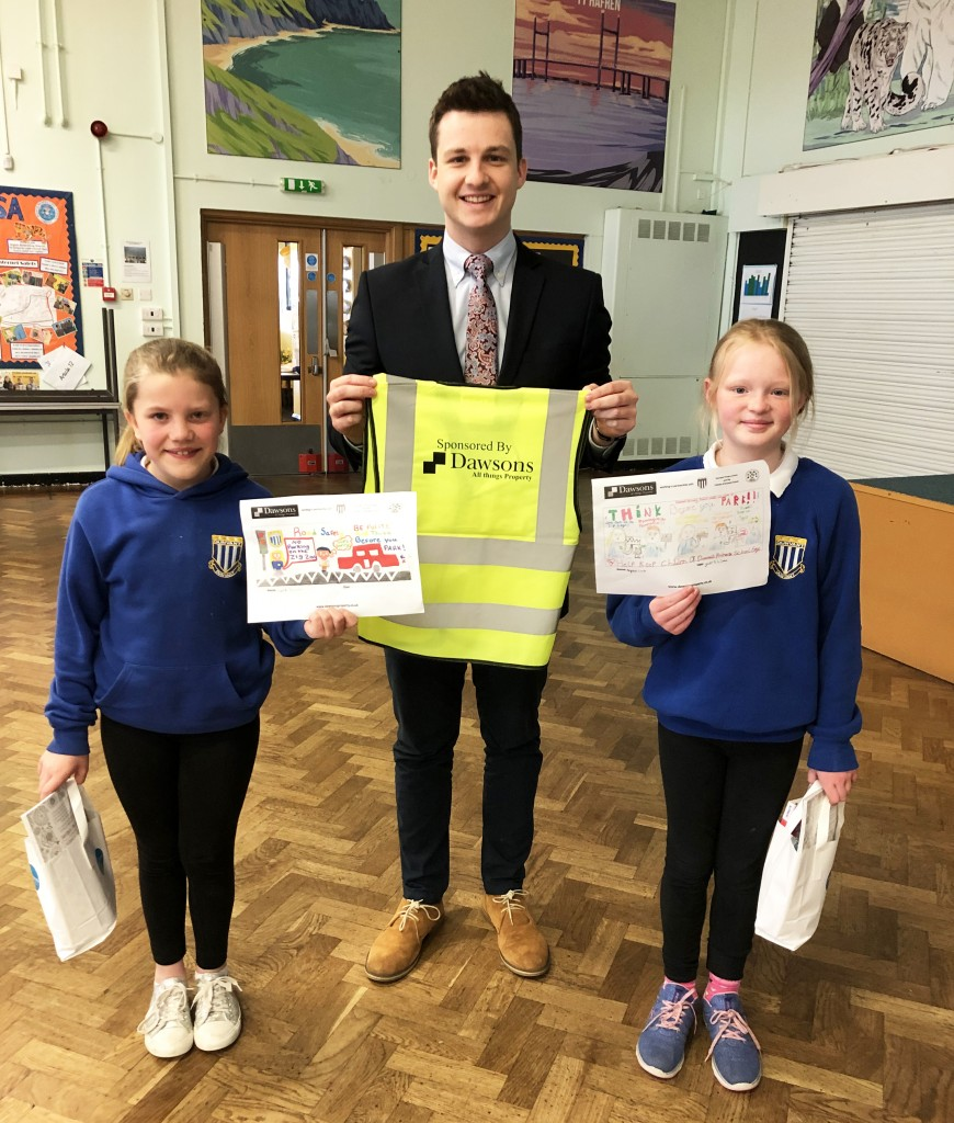 Friends of Dunvant Primary School receive a boost for their parking patrol