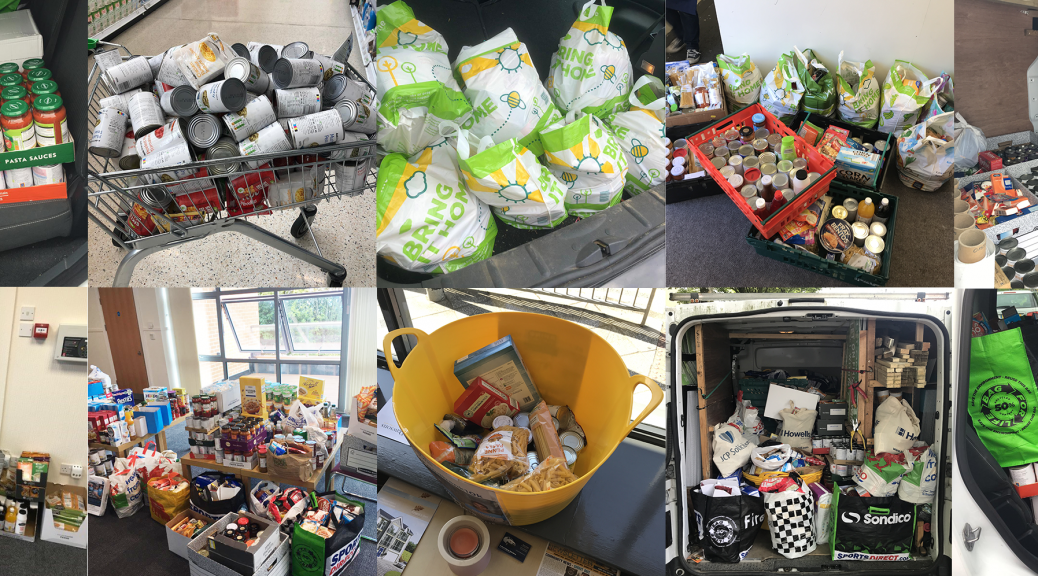 Dawsons food drive 2019 for the Trussell Trust