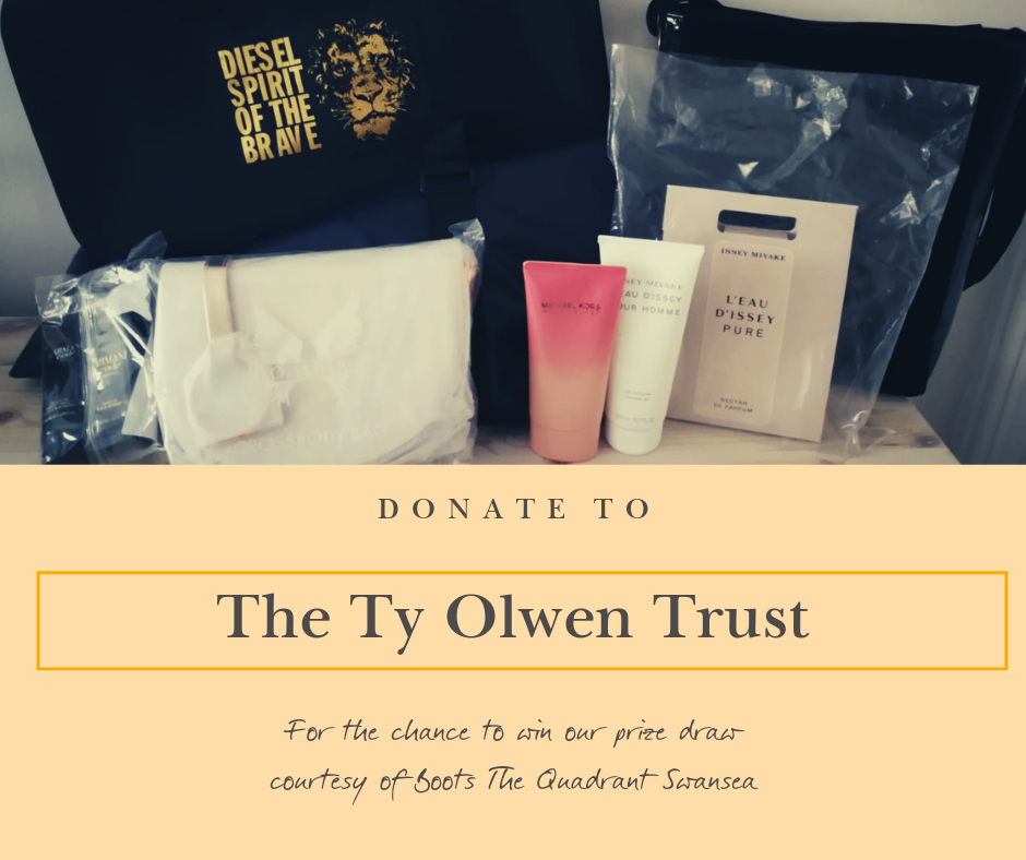 Ty Olwen donations raise money online with Dawsons Property