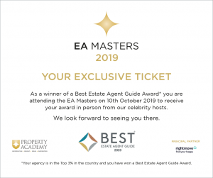 Dawsons are in the Best Estate Agent Guide 2020