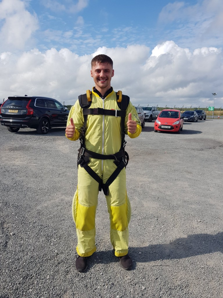 Joe Chiffi Dawsons Property Skydiving for Ty Olwen