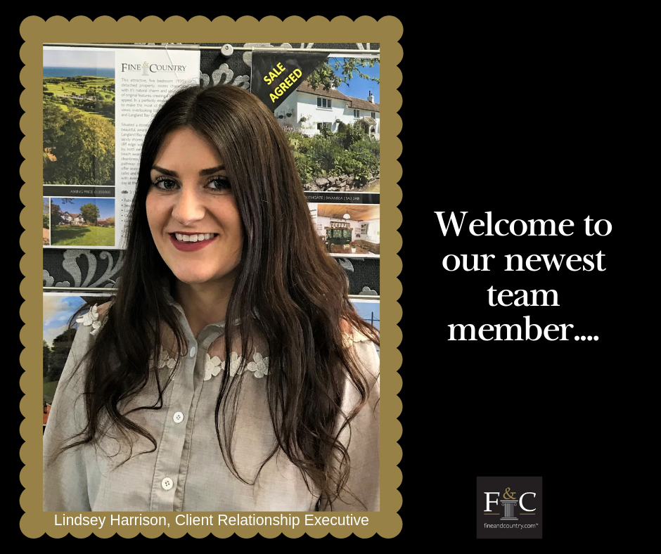 Welcome to our newest team member at Fine & Country Swansea
